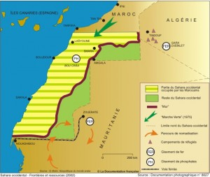 西撒哈拉状态。摩洛哥不想在华盛顿旷野传道
