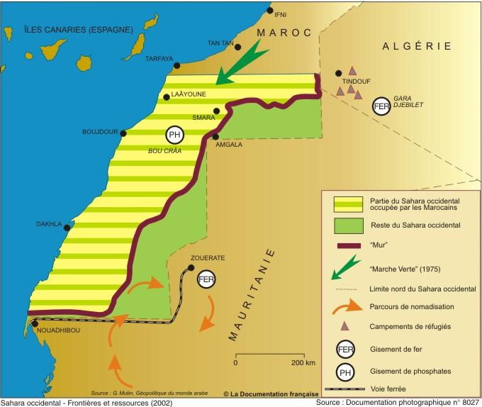 sahara occidental marco alg u00e9rie usa