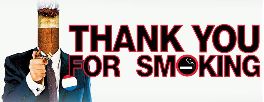 thesis of thank you for smoking