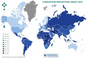 Corruption. Transparency international étudie le niveau de corruption perçue des pays
